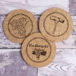 Vinbouquet – Zestaw 5 Podkładek Korkowych  prezent dla przyjaciółki sklep warszawa