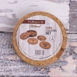 Vinbouquet – Zestaw 5 Podkładek Korkowych  prezent dla mamy