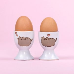 Pusheen podstawki do jajek prezent dla dziewczyny