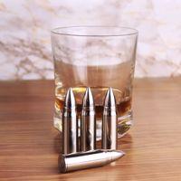 Metalowe Pociski do Drinków - Srebrne prezent dla chłopaka