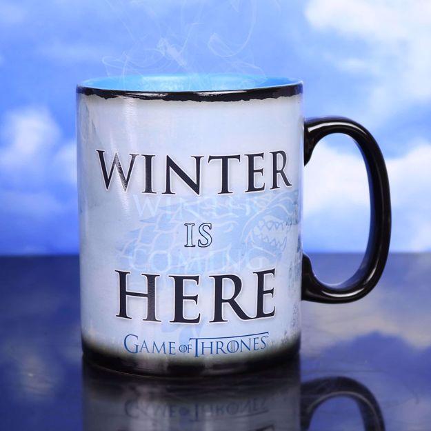 Gra o Tron – Magiczny Kubek - Winter is Here prezent dla chłopaka