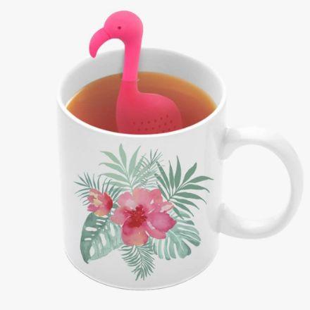 Zaparzaczka do Herbaty – Flaming prezent dla dziewczyny