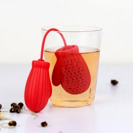Zaparzaczka do Herbaty - Rękawiczka prezent dla niej