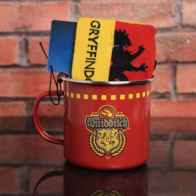 Harry Potter Zestaw Gryfona – Kubek ze Skarpetkami prezent dla chłopaka na święta