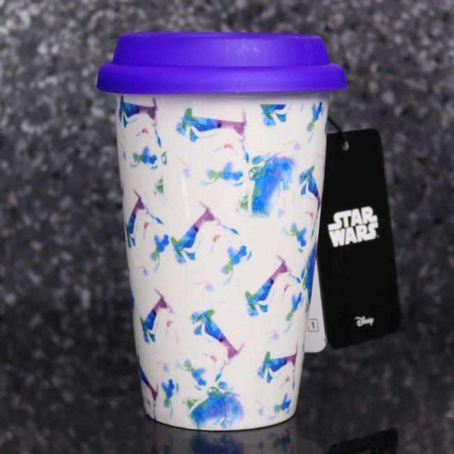 Ceramiczny Kubek Podróżnika - Stormtrooper Pastelowy prezent dla chłopaka