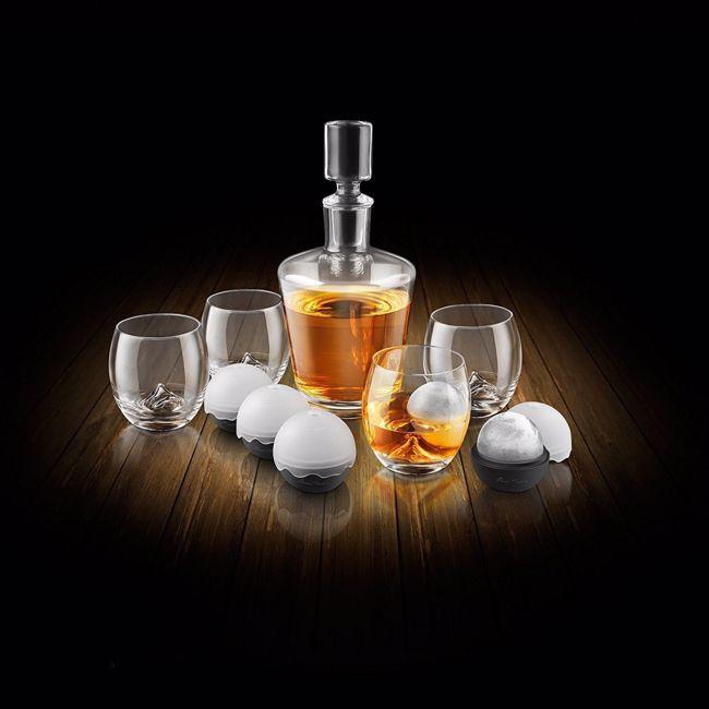 Komplet Konesera Whisky – On The Rock - 10 Elementów prezent dla szefa