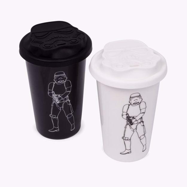 Ceramiczny Kubek Podróżny – StormTrooper prezent dla niego