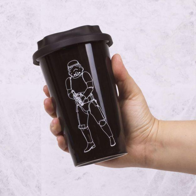 Ceramiczny Kubek Podróżny – StormTrooper prezent dla chłopaka