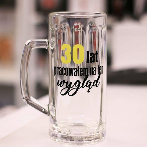 Męski Reset – Kufel 30 lat Pracowałem na ten Wygląd prezent na 30 urodziny warszawa