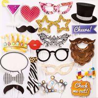 Fotorekwizyty – 20 elementów – Party gadżety na wieczór panieński i urodziny