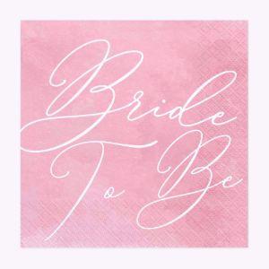 Serwetki – Bride to Be prezenty na wieczór panieński warszawa