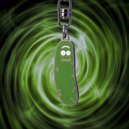 Rick & Morty - Brelok Pickle Rick  prezent dla chłopaka