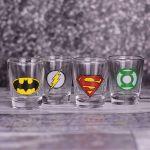 DC Comics - Kieliszki Super Bohaterów prezent dla chłopaka warszawa