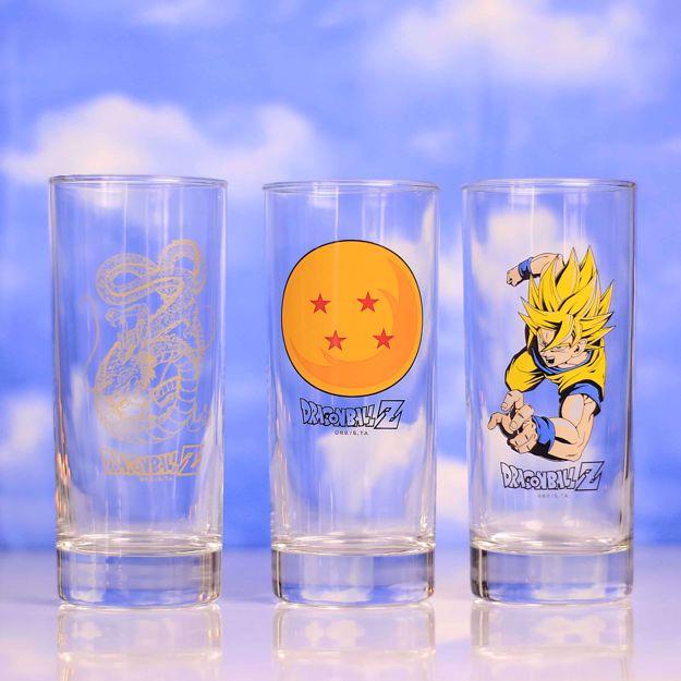 Dragon Ball – Zestaw Szklanek prezent dla chłopaka