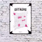 Plakat Zdrapka – Extreme Life  prezent dla pary