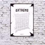 Plakat Zdrapka – Extreme Life  prezent dla pary warszawa