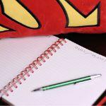 Notes Supermana  prezent dla super chłopaka