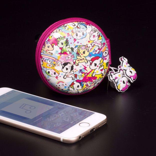 Tokidoki – Słuchawki Jednorożce prezent dla dziewczyny