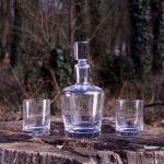 Vinbouquet – Zestaw do Whisky – Karafka i Szklanki prezent dla szefa na urodziny