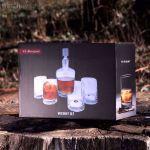 Vinbouquet – Zestaw do Whisky – Karafka i Szklanki prezent na 50 tke warszawa