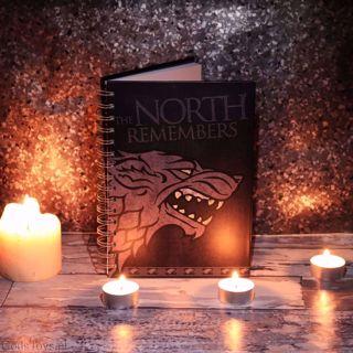 Gra o Tron – Notes Starków prezent dla chłopaka