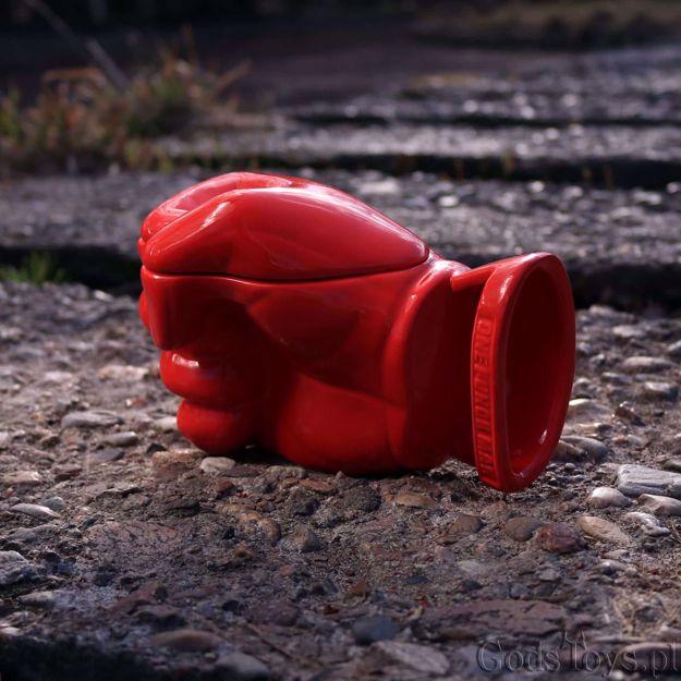 One Punch Man- Kubek Pięść 3D prezent dla chłopaka
