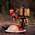 Figurka Deadpool śmieszny prezent dla chłopaka