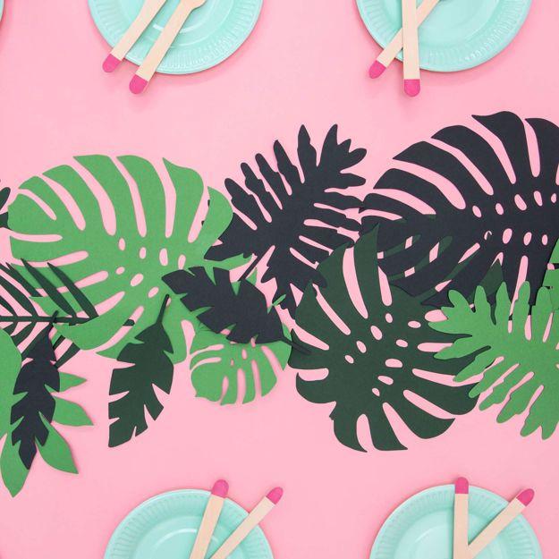 Hawaii Party - Aloha Liście Tropikalne akcesoria na hawajską imprezę