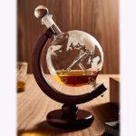 Karafka Globus z Samolotem prezent dla dziewczyny