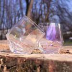 Kolorowe Diamentowe Szklanki do Whisky prezent dla dziewczyny