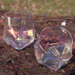 Kolorowe Diamentowe Szklanki do Whisky prezent na urodziny