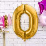 Balony Foliowe Cyfry na urodziny