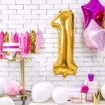 Balony Foliowe Cyfry na urodziny sklep stacjonarny