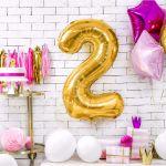 Balony Foliowe Cyfry ozdoby na urodziny sklep stacjonarny warszawa