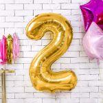 Balony Foliowe Cyfry ozdoby na urodziny sklep stacjonarny