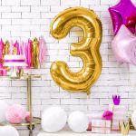 Balony Foliowe Cyfry ozdoby na urodziny sklep