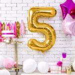Balony Foliowe Cyfry prezent na urodziny warszawa sklep stacjonarny