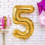 Balony Foliowe Cyfry prezent na urodziny  sklep stacjonarny