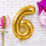 Balony Foliowe Cyfry gadżety urodzinowe sklep stacjonarny
