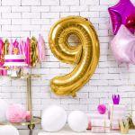Balony Foliowe Cyfry dekoracje urodzinowe na przyjęcie sklep stacjonarny