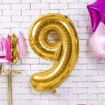 Balony Foliowe Cyfry dekoracje urodzinowe na przyjęcie sklep stacjonarny warszawa