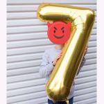 Balony Foliowe Cyfry balony z helem warszawa sklep stacjonarny