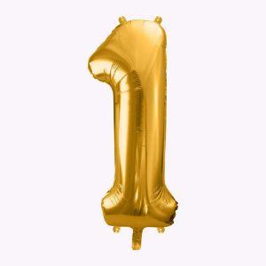 Balony Foliowe Cyfra 1 sklep stacjonarny warszawa