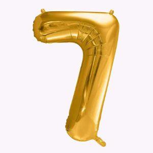 Balony Foliowe Cyfra 7 balony urodzinowe sklep stacjonarny