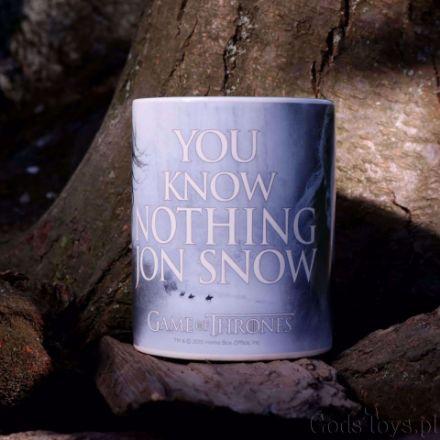 Gra o Tron – Kubek You Know Nothing gadżety filmowe gra o tron