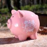 Skarbonka Świnka – Zapłać Karę za Spóźnianie się do Pracy prezent dla szefowej