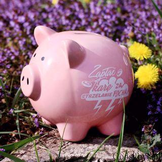 Skarbonka Świnka – Zapłać Karę za Strzelanie Focha prezent dla żony