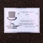 Certyfikaty Kawalerskie Game Over prezent na wieczór Kawalerski sklep stacjonarny warszawa