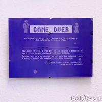 Certyfikat Kawalerski – Game Over Para – Bluescreen prezent na kawalerski