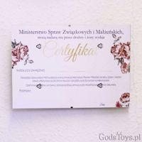 Certyfikat Panieński – Róże wieczór panieński w warszawie